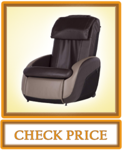 Human Touch iJOY 2.1 Reclining Massage Chair 3 Programmed Massage Modes One Size Espresso Gray