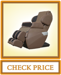 RELAXONCHAIR MK II Plus Full Body Zero Gravity Shiatsu Massage Chair with Built in Heat and Air Massage System Chocolate