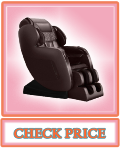 OOTORI Massage Chair Full Body Air Massage Zero Gravity Roller Massage from Neck to Hip with Bluetooth Heating Brown