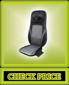 SNAILAX Shiatsu Back Massager with Heat -Deep Kneading Massage Chair Pad SL234