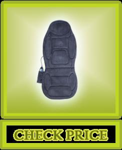 SNAILAX Vibration Massage Seat Cushion Back Massager Massage Chair Pad